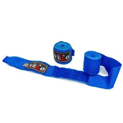 Купить Бинты боксерские профессиональные AIBA VELO 4080-4,5 (4,5м) синие