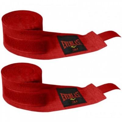 Купить Бинты боксерские (2шт) Х-б EVERLAST BO-3619-4(R) красные
