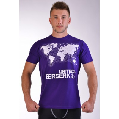 Купить Футболка BERSERK WIND ROSE purple