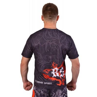 Купить Футболка Berserk Warrior Spirit black размер S