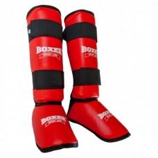 Защита голени и стопы из кожзама Boxer