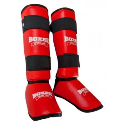 Купить Защита голени и стопы из кожзама Boxer