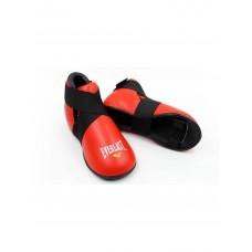 Футы кожаные EVERLAST EV-1815L-R красный