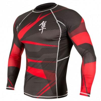 Купить Рашгард HAYABUSA METARU - BLACK RED размер XL