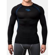Компрессионная футболка Peresvit Air Motion Compression Long Sleeve T-Shirt Black Blue