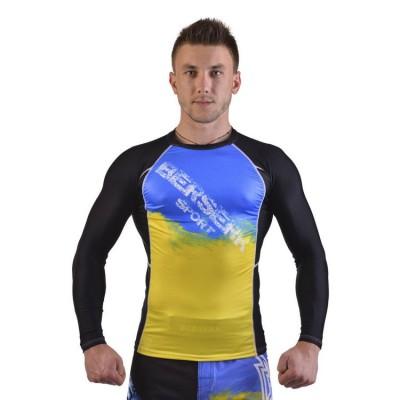 Купить Рашгард для MMA BERSERK UKRAINE FIGHTER black