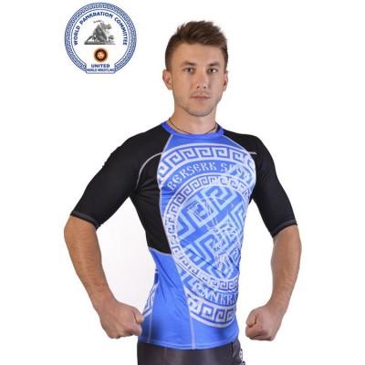 Купить Рашгард for pankration BERSERK APPROWED WPC blue