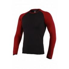 Реглан Long Sleeve BERSERK черно-бордовый