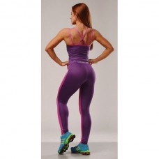 Лосины BERSERK SVELTE GIRL pink/purple