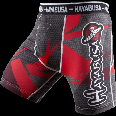 Купить Компрессионные шорты HAYABUSA METARU BLACK RED