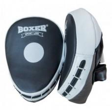 Лапы боксерские Boxer Elit (кожа)