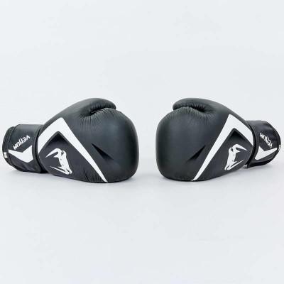 Купить Перчатки боксерские кожаные на липучке VENUM CONTENDER