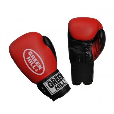 Купить Боксерские перчатки Green Hill FIGHTER красные