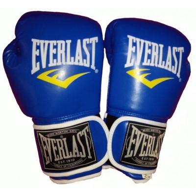 Купить Перчатки боксерские PU на липучке EVERLAST BO-3987-B