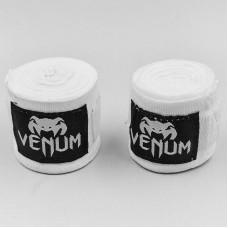 Бинты боксерские (2шт) хлопок VENMUM VN0429 (l-4м, цвета в ассортименте)