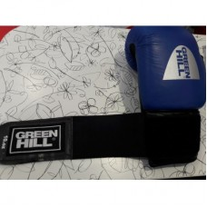 Боксерские перчатки Green Hill FIGHTER синие