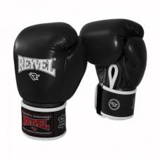 Боксерские перчатки REYVEL Кожа 12 унций цвета
