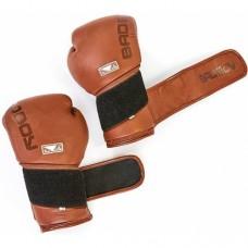 Перчатки боксерские кожаные BAD BOY LEGACY 2.0 VL-6618-BR коричневый