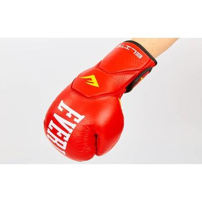 Купить Перчатки боксерские кожаные ELAST MA-6758-R (р-р 10-12oz,