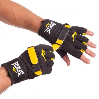 Перчатки-бинты внутренние гелевые из неопрена EVERLAST BO-0400