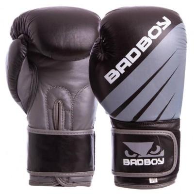 Купить Перчатки боксерские кожаные на липучке Bad Boy MA-6738
