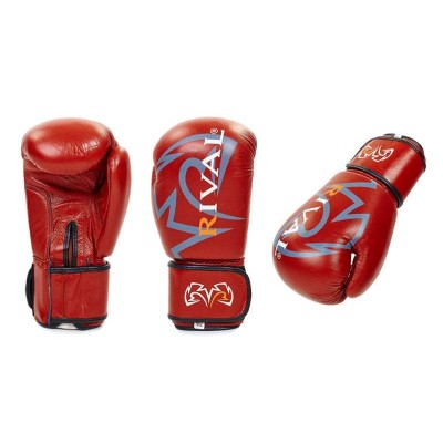 Купить Перчатки боксерские кожаные RIVAL MA-3307-BR коричневые