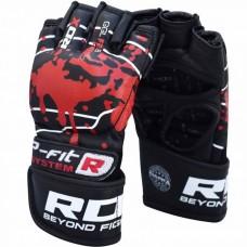 Перчатки ММА RDX Blood