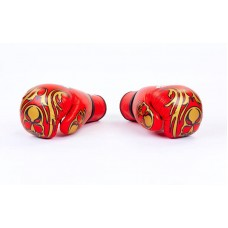 Перчатки боксерские кожаные на липучке TWINS MA-5436 (р-р 10-12oz, цвета в ассортименте)
