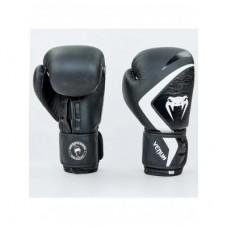 Перчатки боксерские кожаные на липучке VENUM CONTENDER