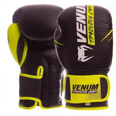 Купить Перчатки боксерские кожаные на липучке VENUM NEO VN-006