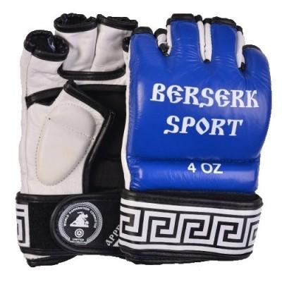 Купить Перчатки BERSERK SPORT TRADITIONAL for Pankration approwed WPC 4 oz blue