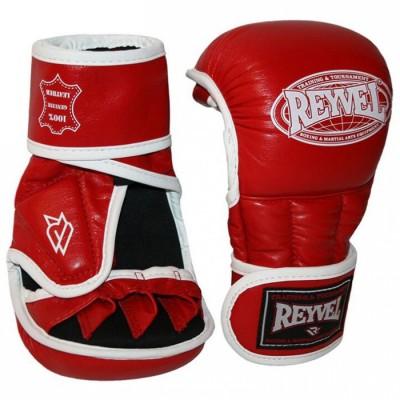 Купить Перчатки рукопашные REYVEL кожа Красные