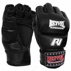 Перчатки М1 REYVEL кожа красные, чёрные