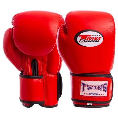 Купить Перчатки боксерские кожаные TWINS VL-6631