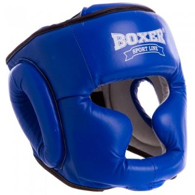 Купить Шлем тренировочный каратэ Boxer Элит (кожа)