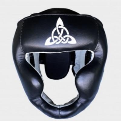 Купить Шлем тренировочный Berserk Scandi-fight (кожа) black