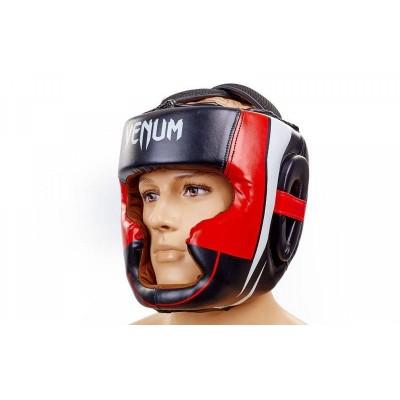 Купить Шлем боксерский с полной защитой FLEX EVERLAST BO-5342-BK