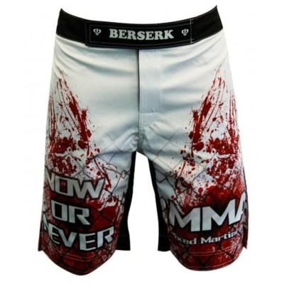 Купить Шорты для MMA BERSERK BLOOD FIGHTER white размер XL