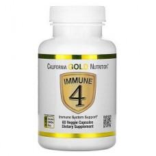 Витамины и минералы California Gold Nutrition Immune 4 (60 капсул.)