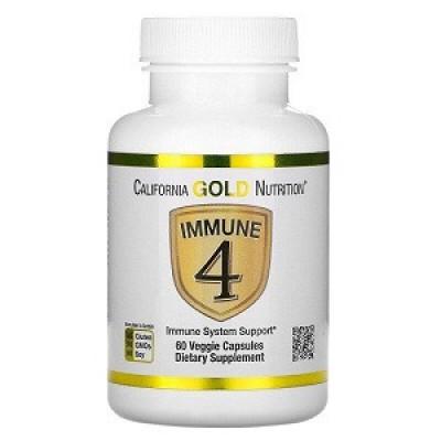 Купить Витамины и минералы California Gold Nutrition Immune 4 (60 капсул.)