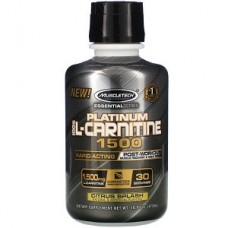 Л-Карнитин Muscletech Essential Series Platinum 100% L-Carnitine 1500 mg (473 мл.)
