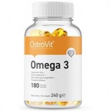 Витамины ОМЕГА 3 OstroVit Omega 3 (180 капсул.)
