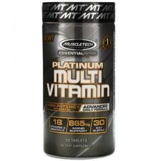 Витамины и минералы Muscletech Essential Series Platinum Multi Vitamin (90 таблеток.)