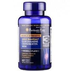 Глюкозамин хондроитин МСМ Puritan's Pride Double Strength Glucosamine Chondroitin & MSM (60 таб.)