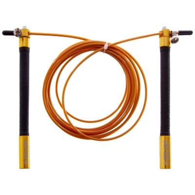 Купить Скакалка профессиональная  ZELART со стальным тросом скоростная с подшип. FI-5345 l-3м, d-2,6мм