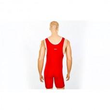 Трико для борьбы и тяжелой атлетики  ASICS CO-5440-R красный